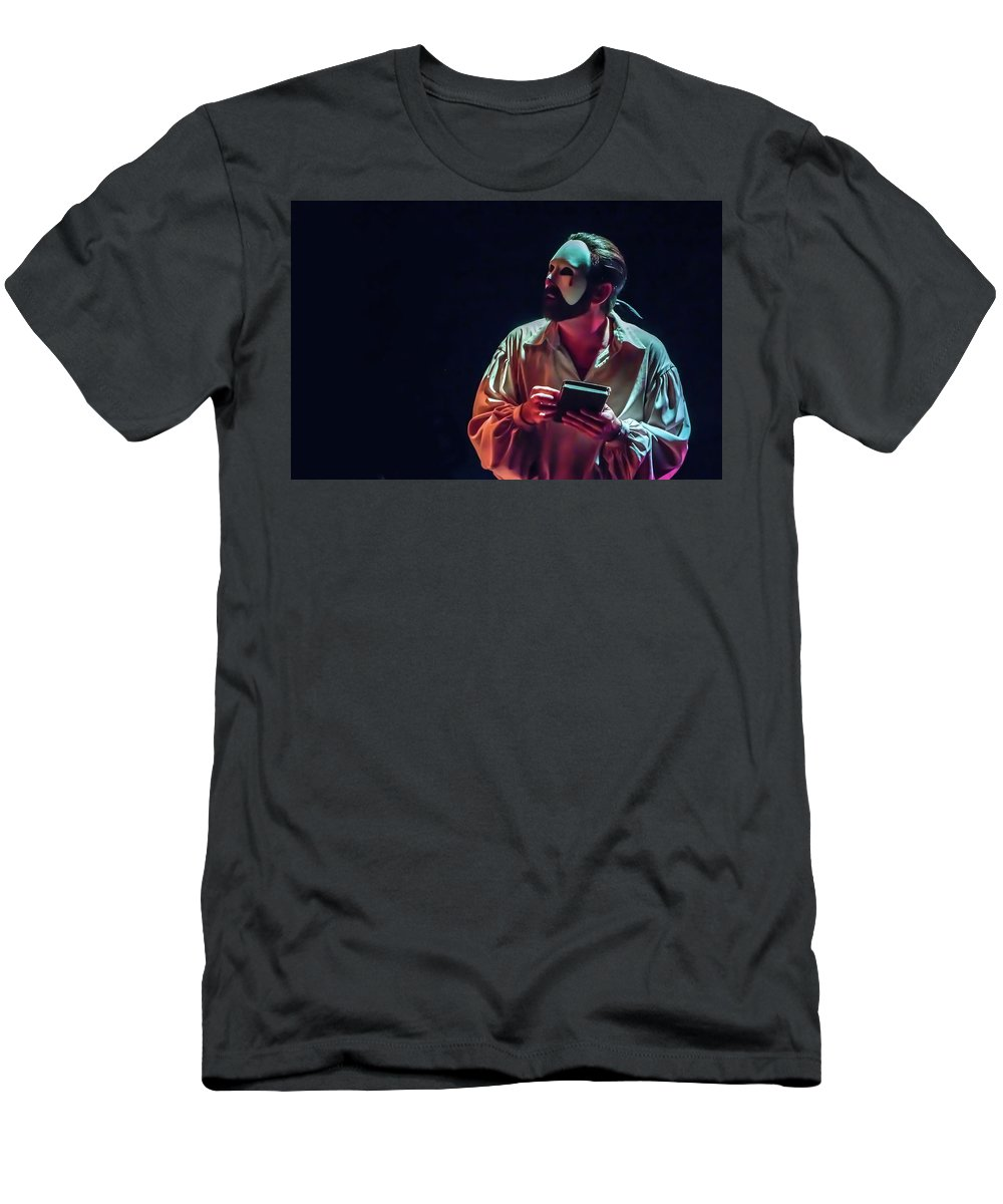 Live Theater T-Shirt featuring the photograph American Phantom by Alan D Smith