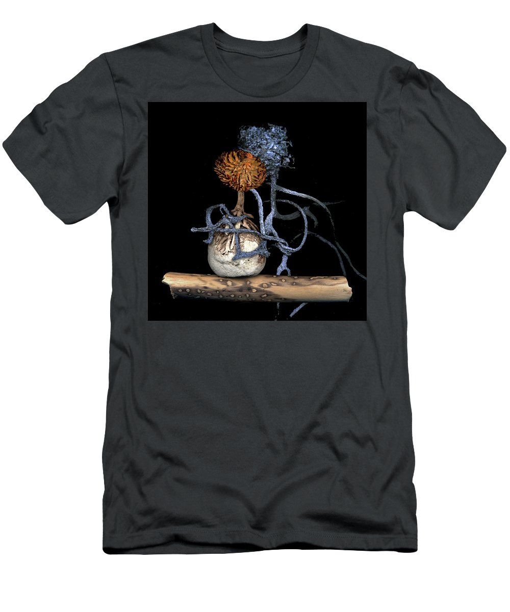 Couple Men's T-Shirt (Athletic Fit) featuring the digital art Amore by Theresa Paris