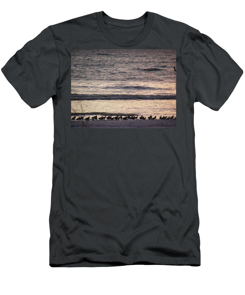 Evening Stroll Men's T-Shirt (Athletic Fit) featuring the photograph An Evening Stroll by Ed Smith