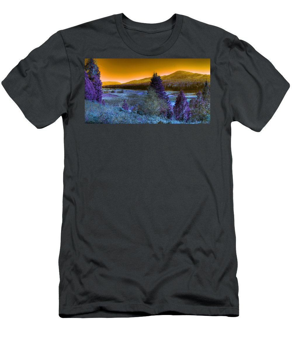 Fantasy T-Shirt featuring the photograph An Idaho Fantasy 1 by Lee Santa