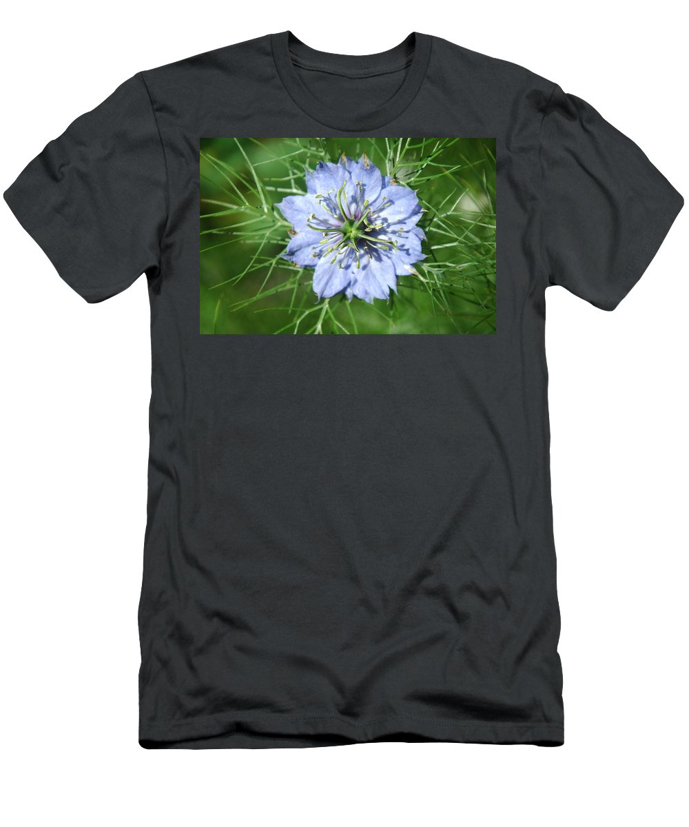 Flower Men's T-Shirt (Athletic Fit) featuring the photograph An Octopusses Garden by Donna Blackhall