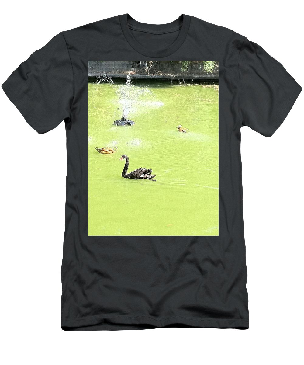 Men's T-Shirt (Athletic Fit) featuring the photograph Animals by Daniela Buciu