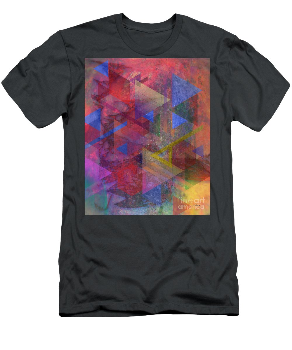 Another Time Men's T-Shirt (Athletic Fit) featuring the digital art Another Time by John Beck