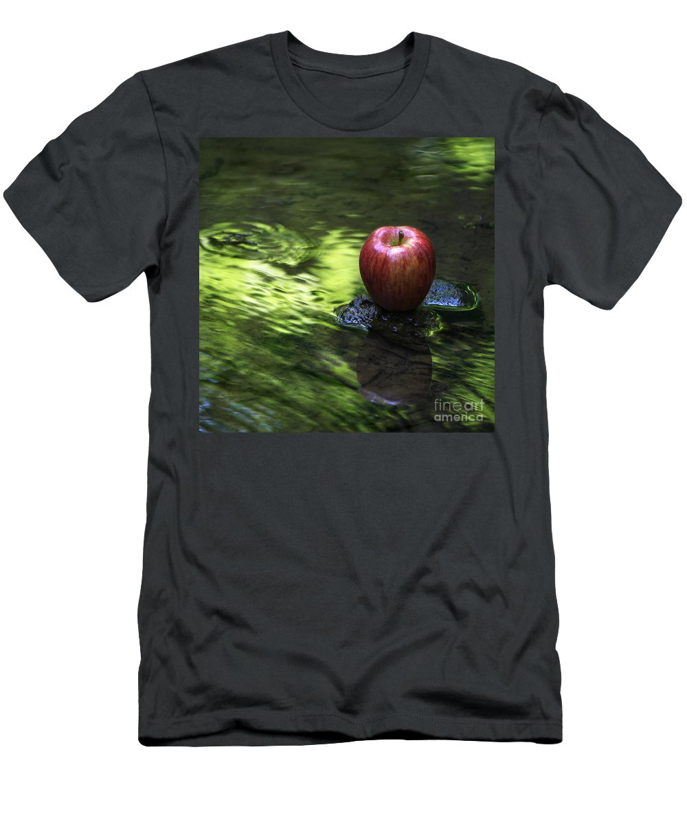 Apple Men's T-Shirt (Athletic Fit) featuring the photograph Apple by Sari Sauls