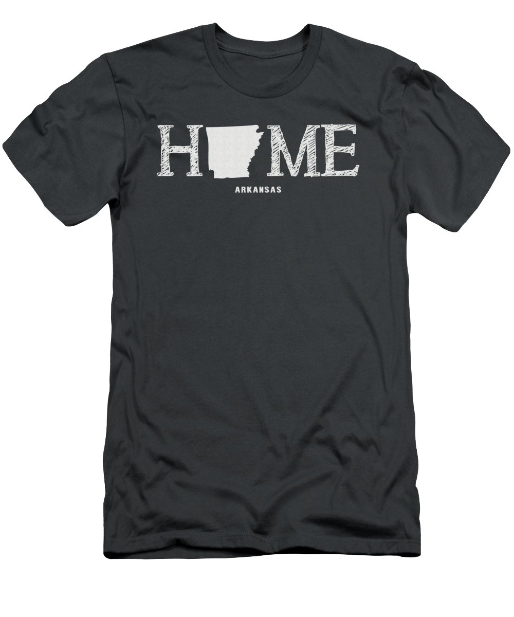 University Of Arkansas Slim Fit T-Shirts