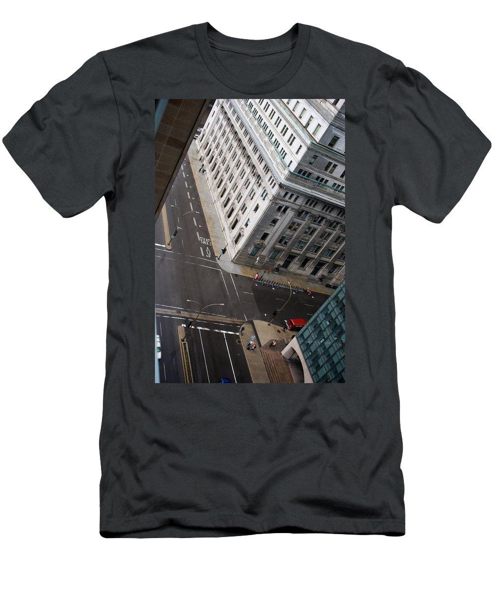 Askew Men's T-Shirt (Athletic Fit) featuring the photograph Askew View by Lisa Knechtel