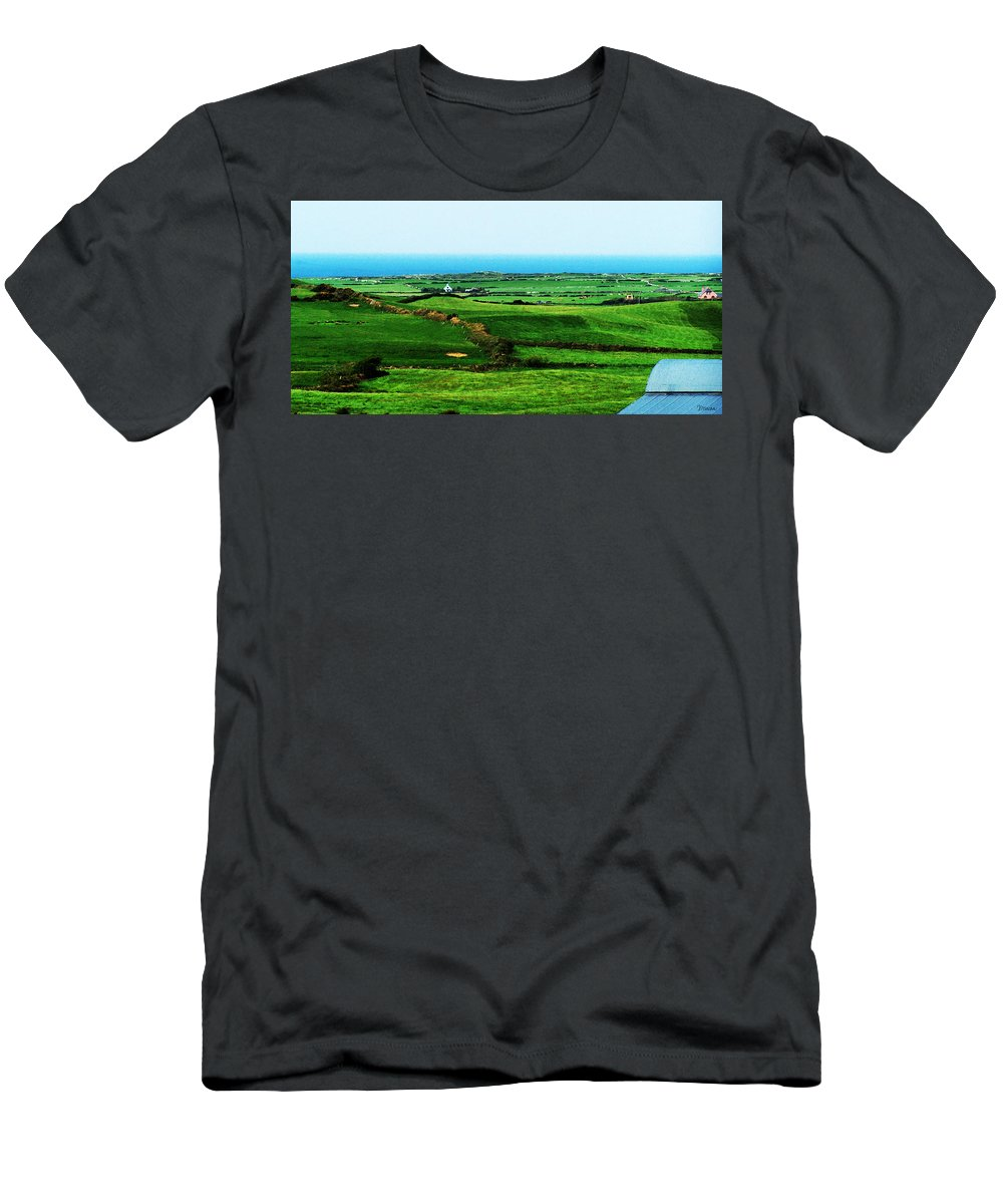 Ireland T-Shirt featuring the photograph Atlantic View Doolin Ireland by Teresa Mucha