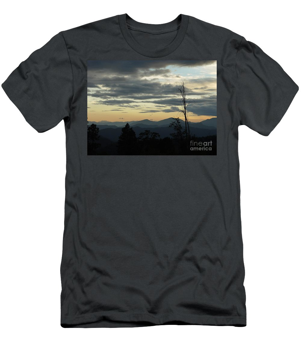 Atmospheric Men's T-Shirt (Athletic Fit) featuring the photograph Atmospheric Perspective by Peter Piatt