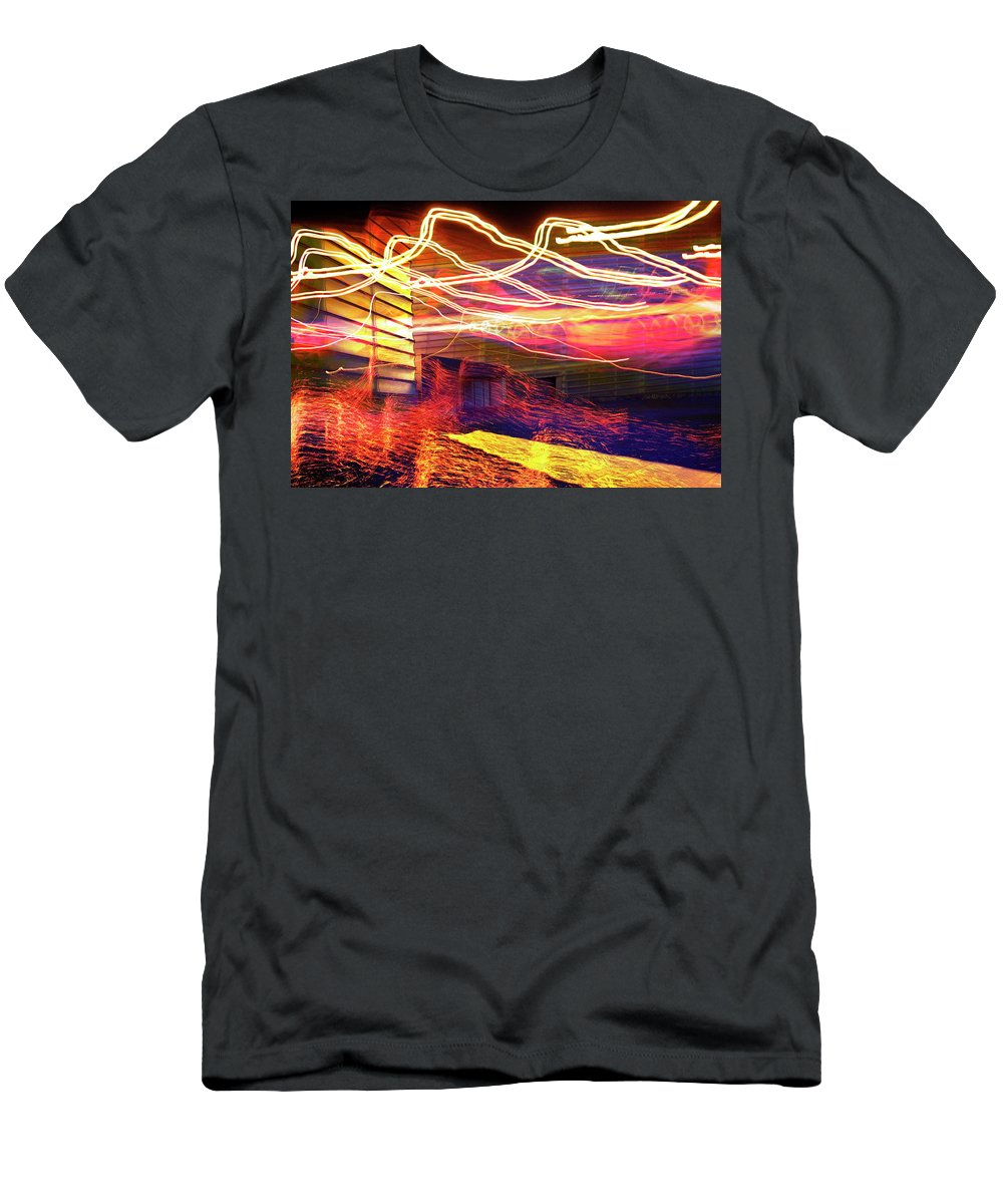 Aurora T-Shirt featuring the photograph Aurora by Skip Hunt