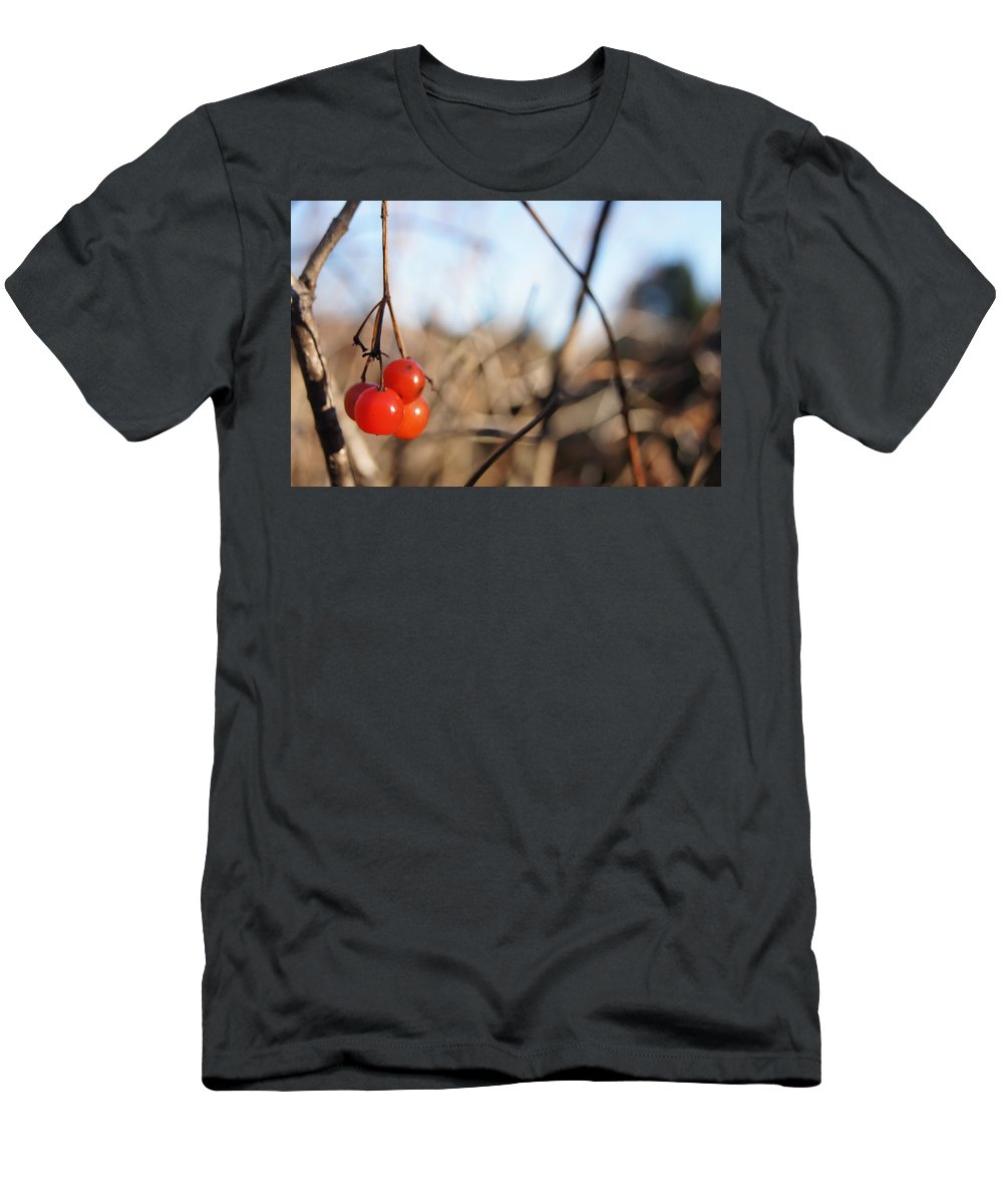 Men's T-Shirt (Athletic Fit) featuring the photograph Automn Fruits by Line Gagne