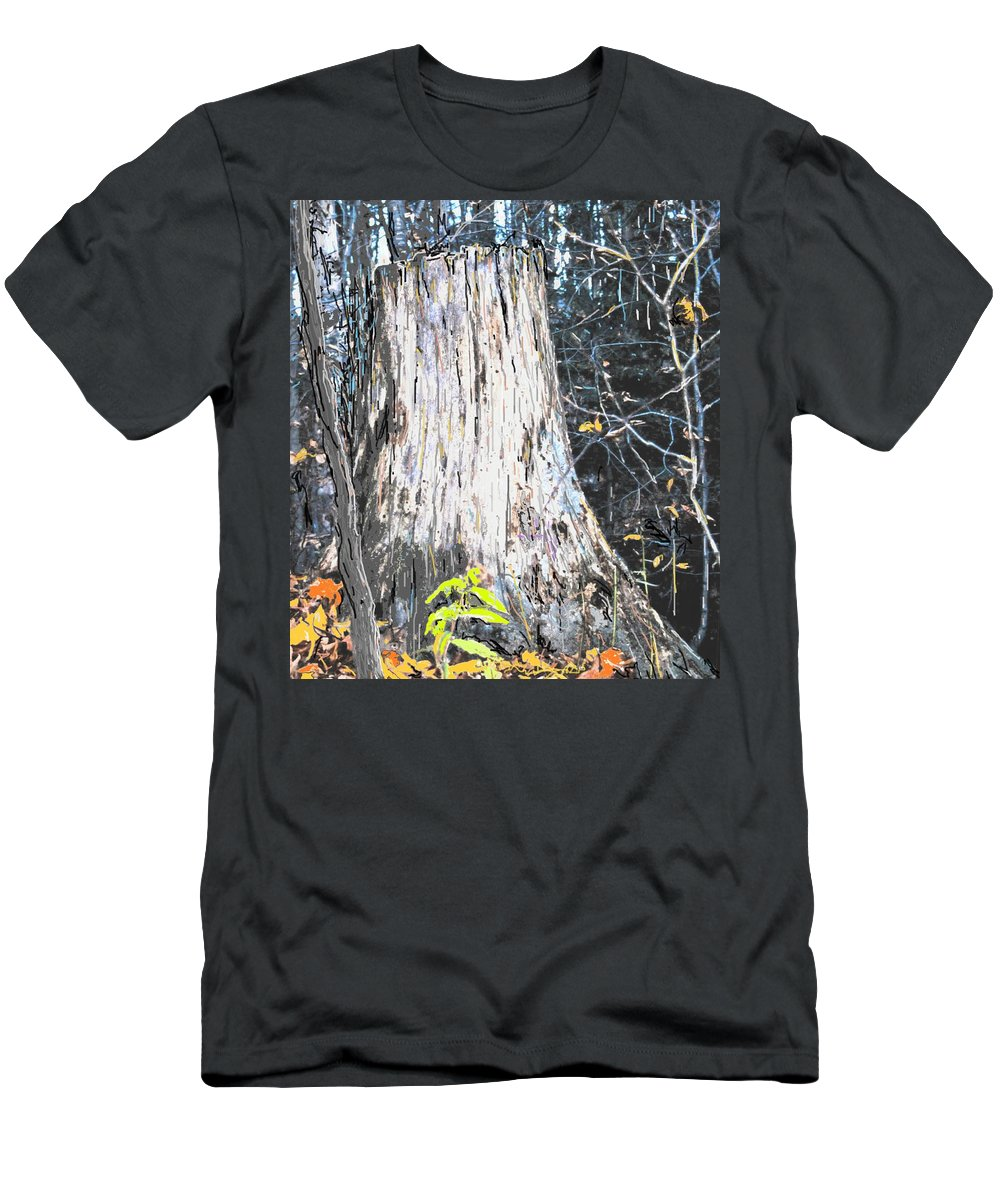 Fall Men's T-Shirt (Athletic Fit) featuring the photograph Autumn by Ian MacDonald