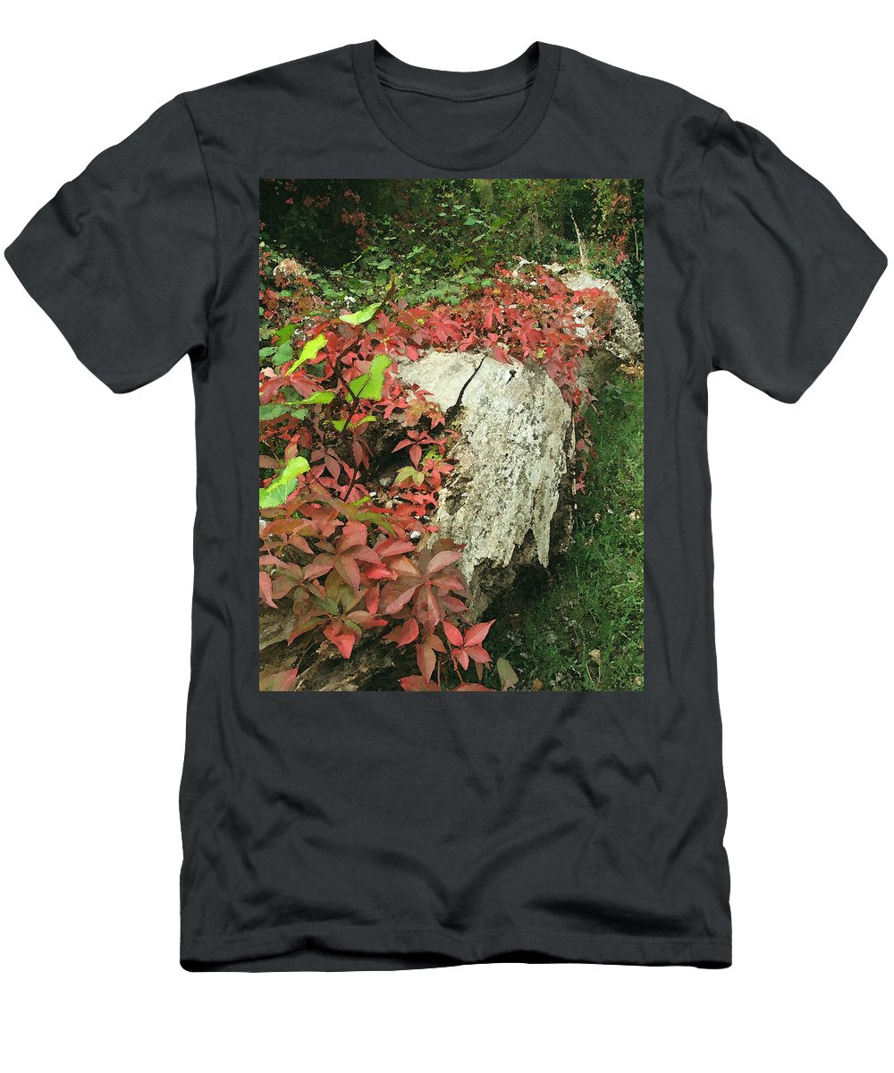 Hampstead Men's T-Shirt (Athletic Fit) featuring the photograph Autumn In Hampstead by Heather Lennox