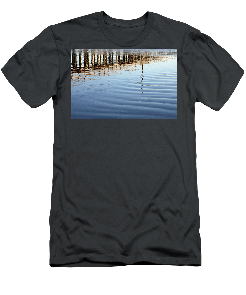 Avila Pier Men's T-Shirt (Athletic Fit) featuring the photograph Avila Beach Pier California 1 by Bob Christopher