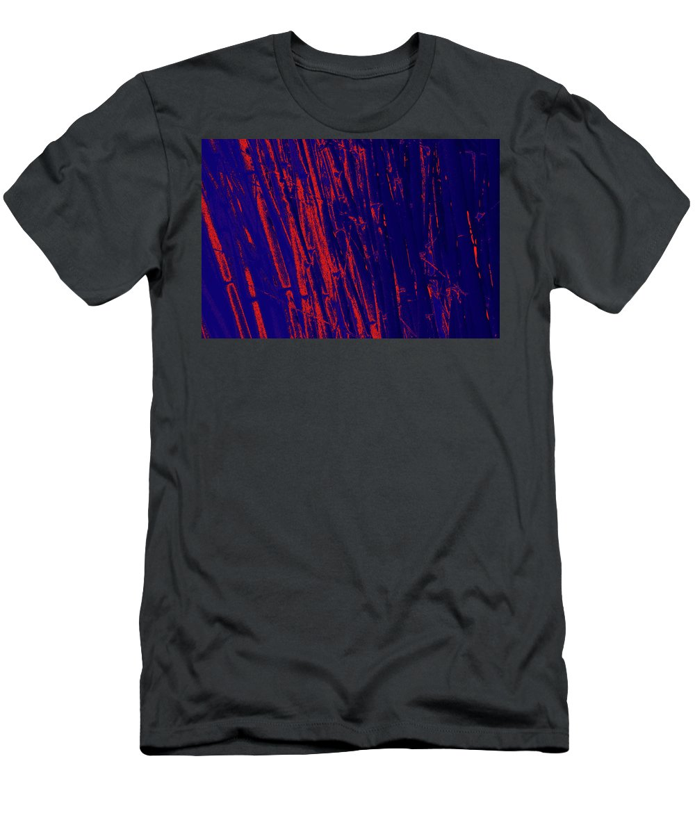 Trees Men's T-Shirt (Athletic Fit) featuring the photograph Bamboo Johns Yard 15 by Gary Bartoloni