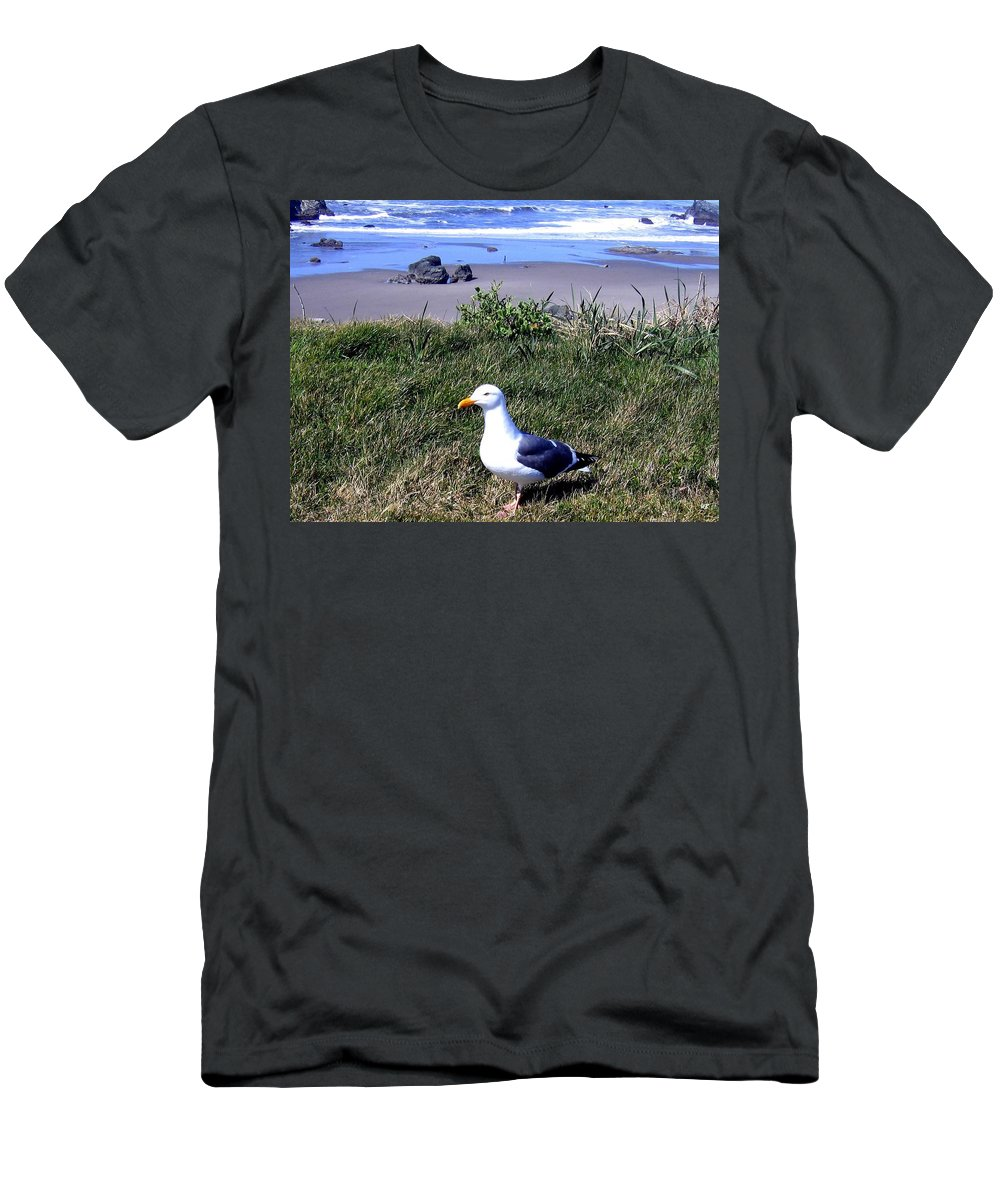 Bandon Men's T-Shirt (Athletic Fit) featuring the photograph Bandon 37 by Will Borden
