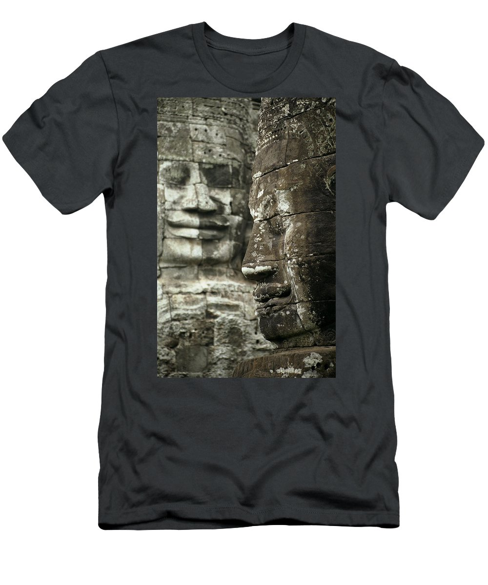 Bayon Men's T-Shirt (Athletic Fit) featuring the photograph Bayonii by Patrick Klauss