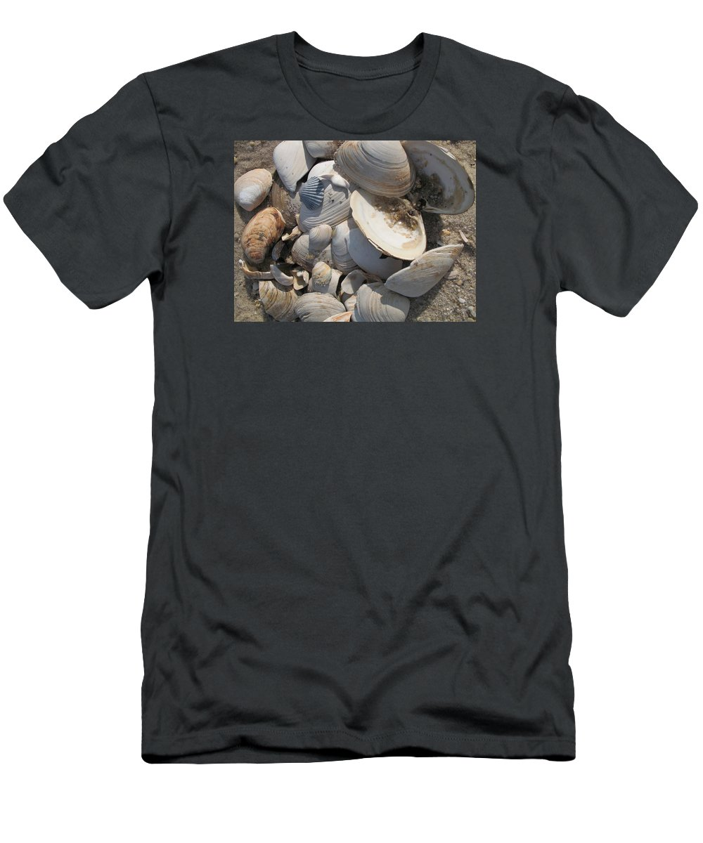 Beach Men's T-Shirt (Athletic Fit) featuring the photograph Beach Still Life IIi by Christiane Schulze Art And Photography