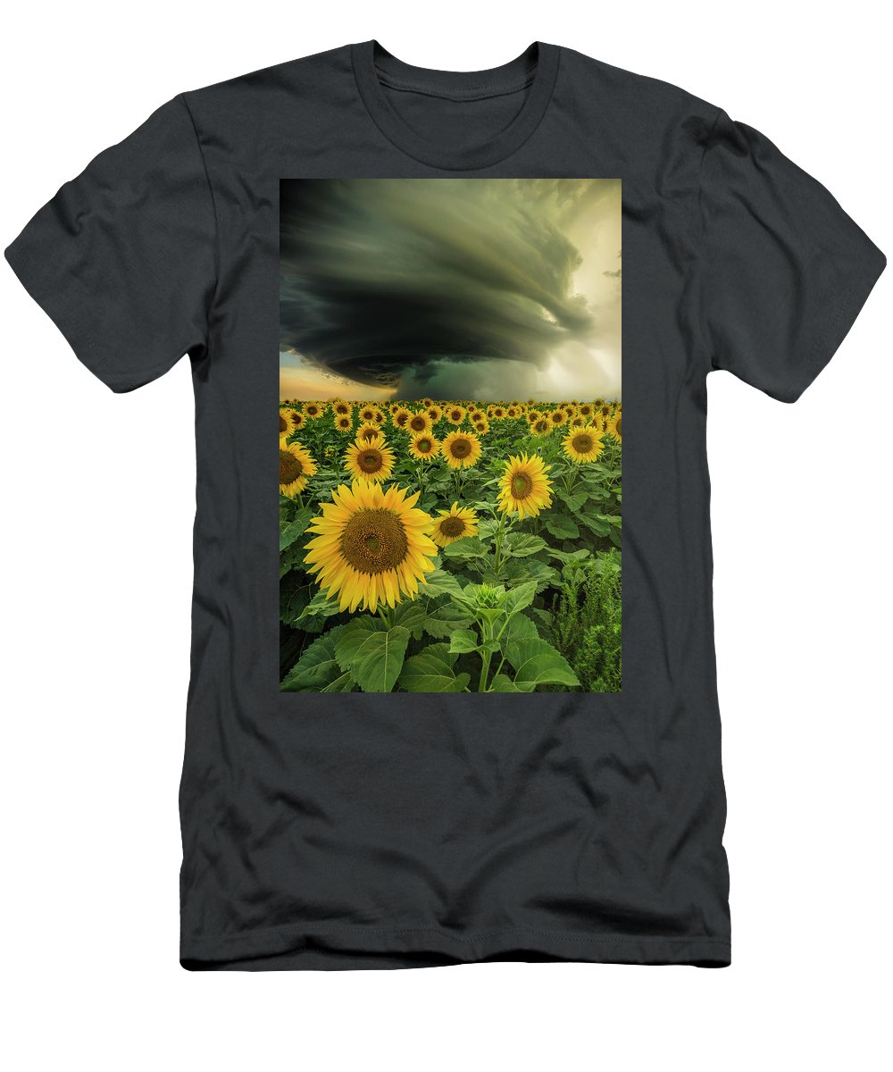 Supercell T-Shirt featuring the photograph Beautiful Destruction by Aaron J Groen