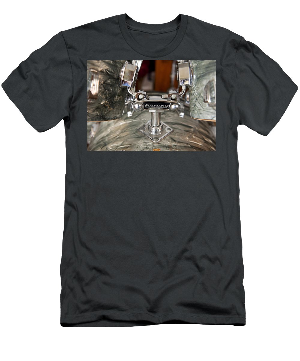 Drums T-Shirt featuring the photograph Beauty and the Beat by Stephen Anderson