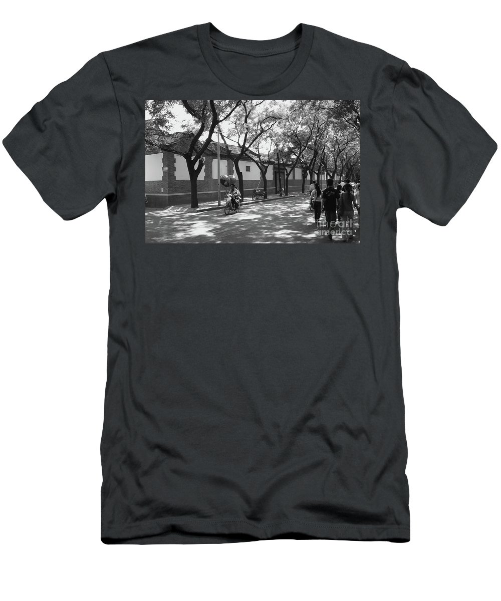 Beijing Men's T-Shirt (Athletic Fit) featuring the photograph Beijing City 10 by Xueling Zou