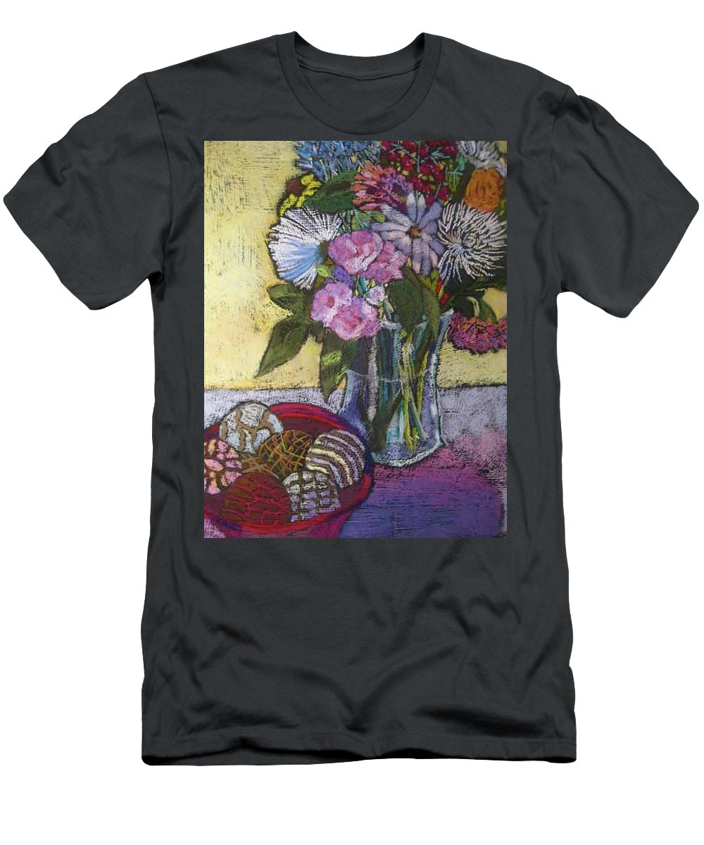 Balls Of Sinew Men's T-Shirt (Athletic Fit) featuring the painting Bellissima by Constance GEHRING