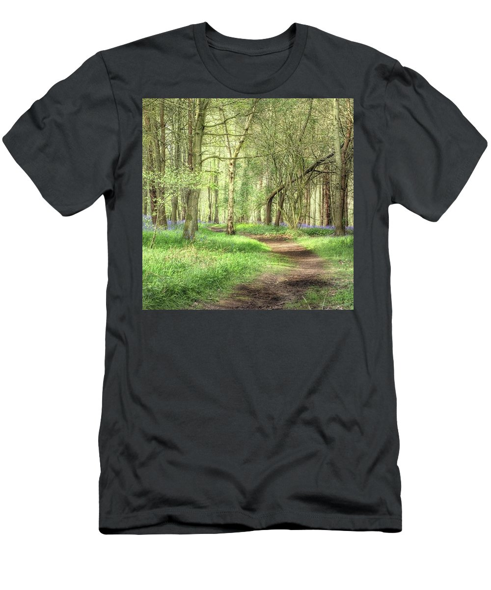 Nature T-Shirt featuring the photograph Bentley Woods, Warwickshire #landscape by John Edwards