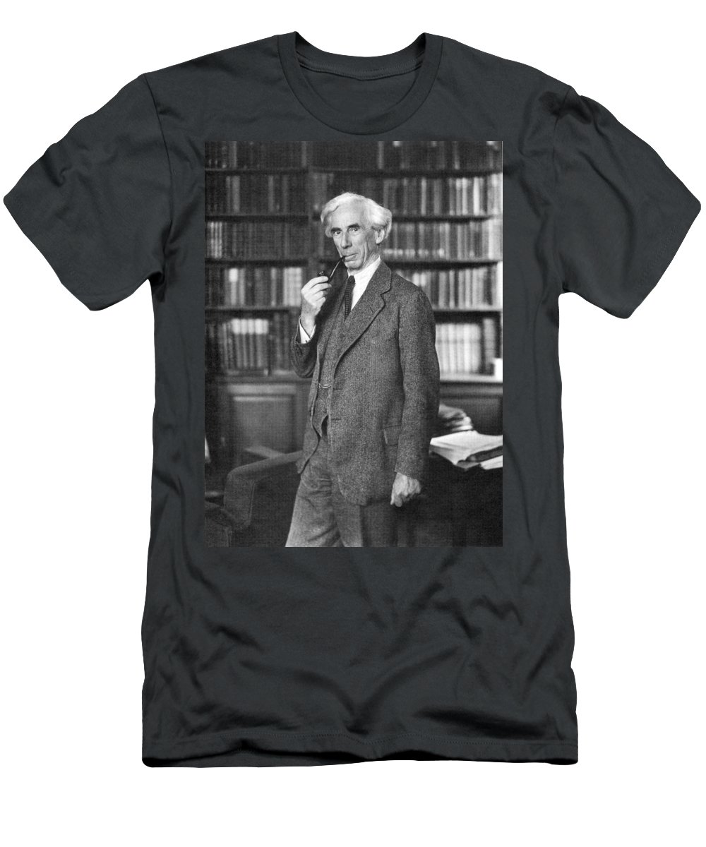 1935 Men's T-Shirt (Athletic Fit) featuring the photograph Bertrand Russell by Granger