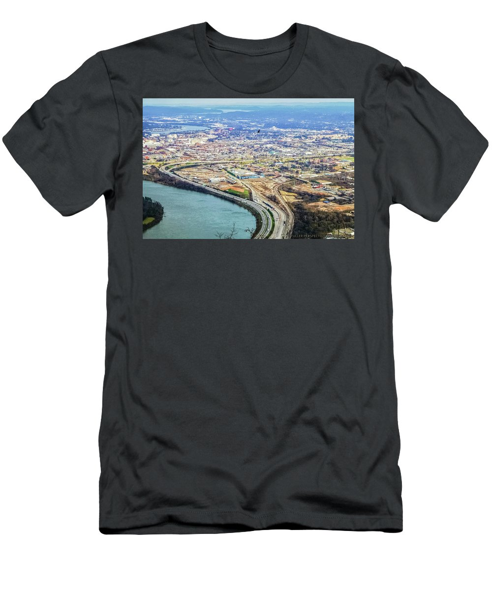 Chattanooga Men's T-Shirt (Athletic Fit) featuring the photograph Bird's Eye by Chad Fuller