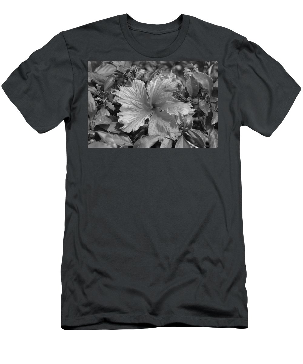Black And White Men's T-Shirt (Athletic Fit) featuring the photograph Black And White by Rob Hans