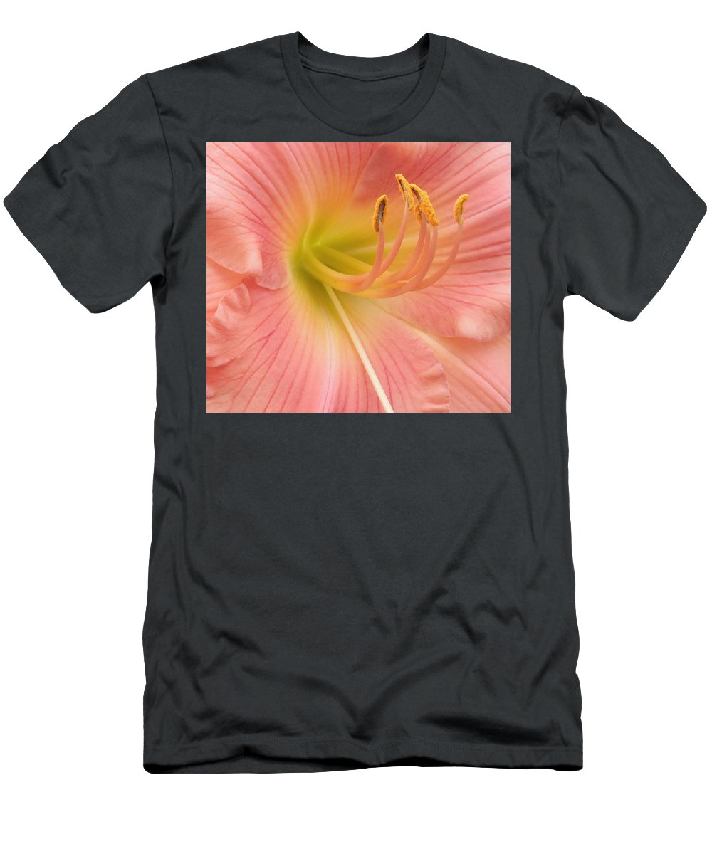 Lily Men's T-Shirt (Athletic Fit) featuring the photograph Blooming Lily by Kristen Chavez