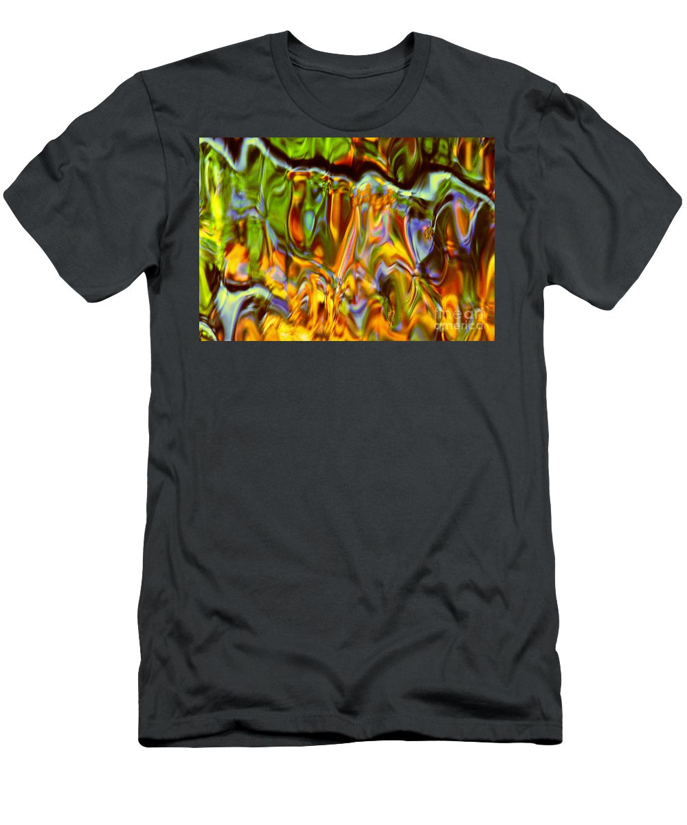 Abstract T-Shirt featuring the photograph Boisterous Bellows of Colors by Sybil Staples
