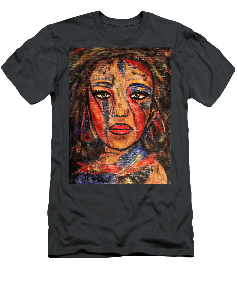 Woman Men's T-Shirt (Athletic Fit) featuring the painting Bonita by Natalie Holland