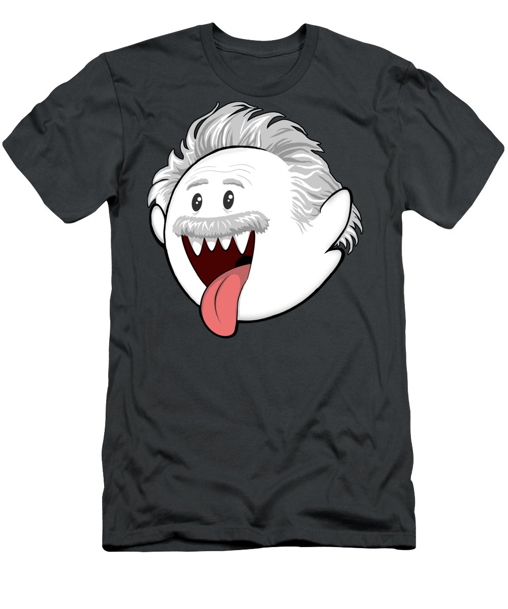Boo T-Shirt featuring the digital art Boo-Stein by Olga Shvartsur