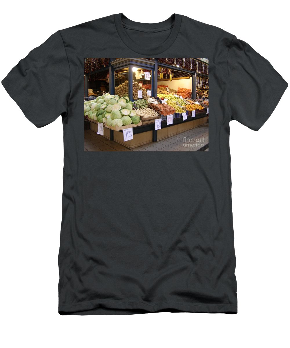 Food Men's T-Shirt (Athletic Fit) featuring the photograph Bountiful by Mary Rogers