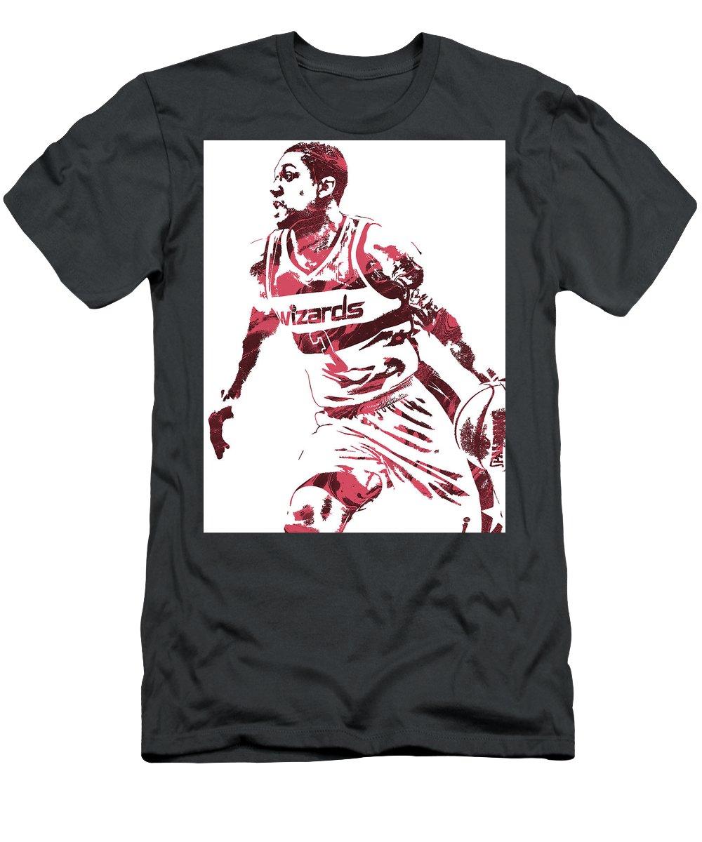 finest selection 18b22 1d244 Bradley Beal Washington Wizards Pixel Art 3 Men's T-Shirt (Athletic Fit)
