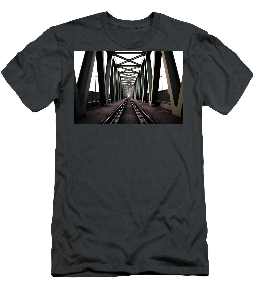 Bridge T-Shirt featuring the photograph Bridge by Zoltan Toth