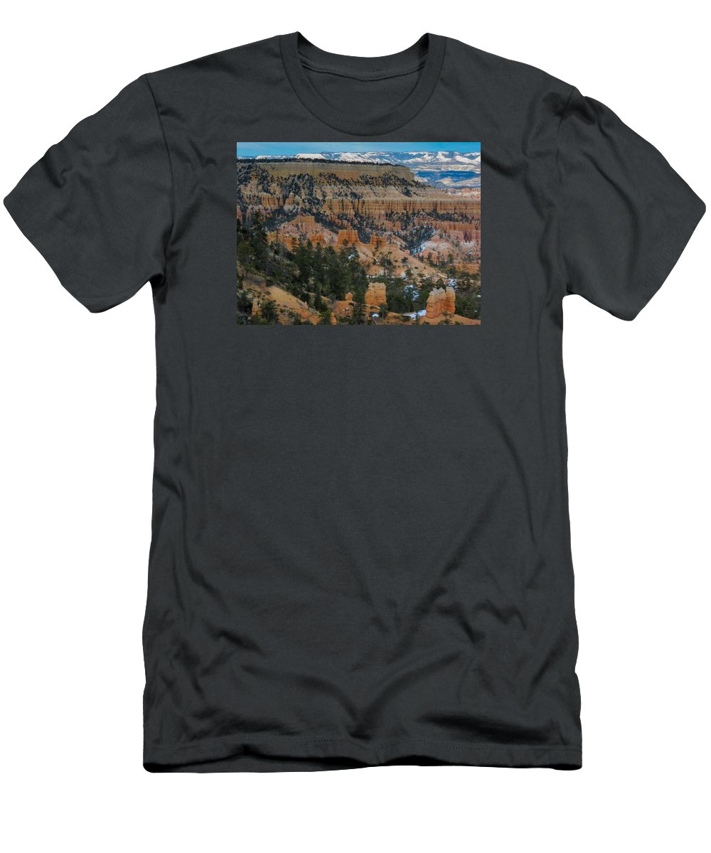 Bryce Canyon National Park Men's T-Shirt (Athletic Fit) featuring the photograph Bryce Canyon Series #2 by Patti Deters