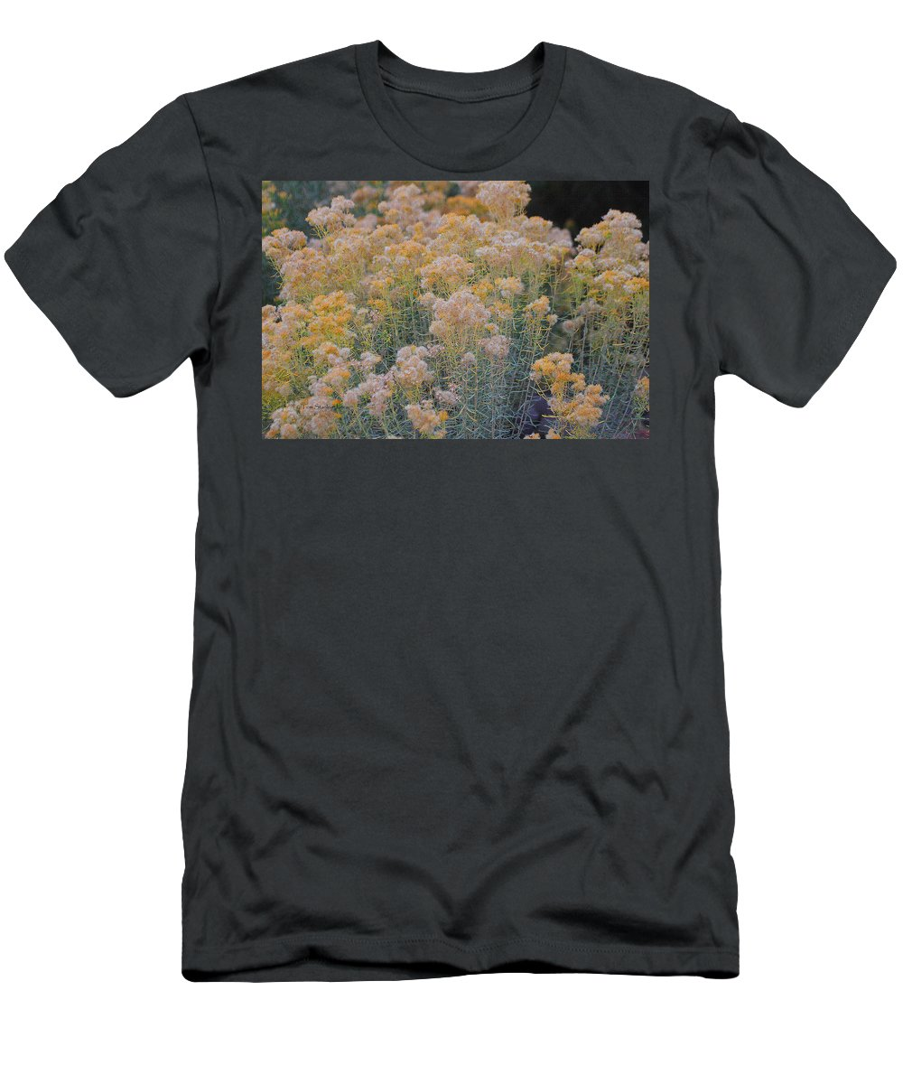 Burro Bush Men's T-Shirt (Athletic Fit) featuring the photograph Burro Bush by Tom Janca