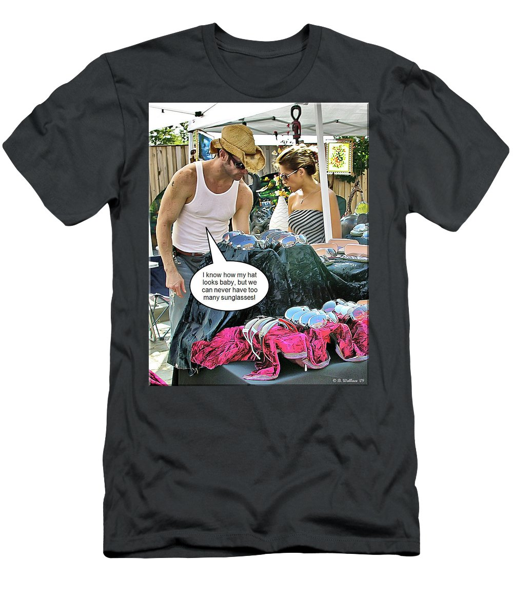 2d Men's T-Shirt (Athletic Fit) featuring the photograph Can Never Have Too Many by Brian Wallace