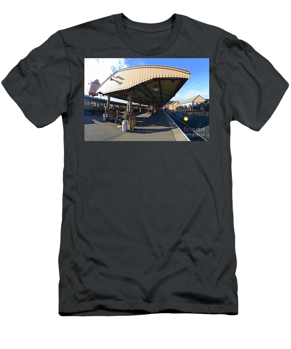 Canopy Men's T-Shirt (Athletic Fit) featuring the photograph Canopy by Andy Thompson