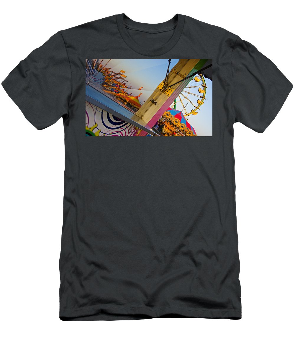 Carnival Men's T-Shirt (Athletic Fit) featuring the photograph Carnival 1 by Skip Hunt
