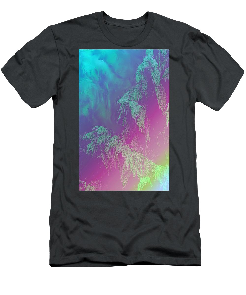 Trees T-Shirt featuring the photograph Cascade by Ian MacDonald