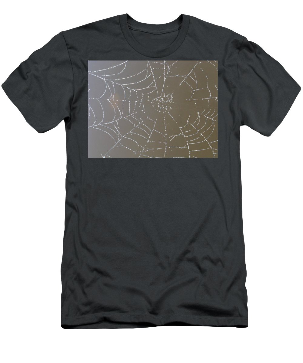 Diamond-like Men's T-Shirt (Athletic Fit) featuring the photograph Catching Diamonds by Bill Tomsa