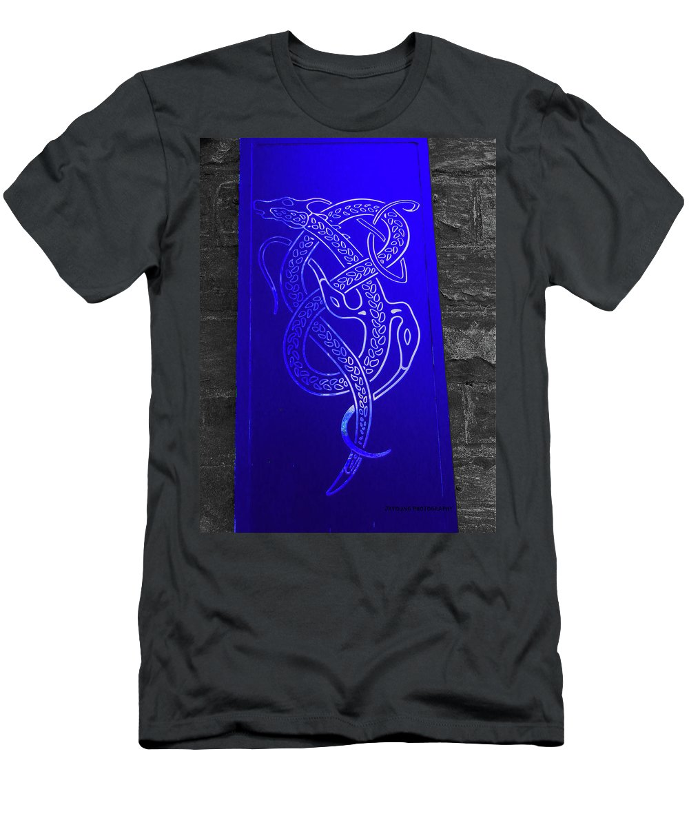 Art Men's T-Shirt (Athletic Fit) featuring the photograph Celtic Design by James Young
