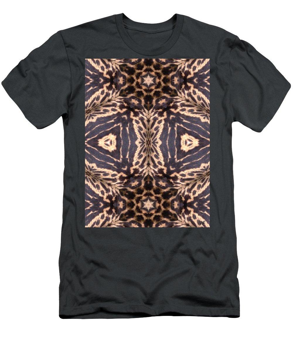 Digital Men's T-Shirt (Athletic Fit) featuring the digital art Cheetah Print by Maria Watt
