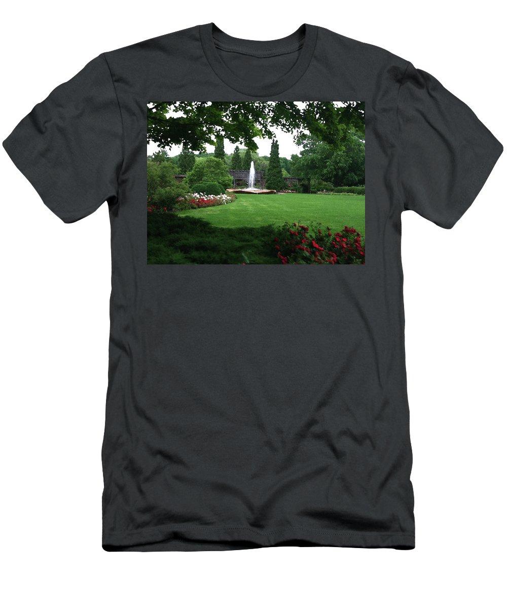 Landscape T-Shirt featuring the photograph Chicago Botanical Gardens Landscape by Steve Karol