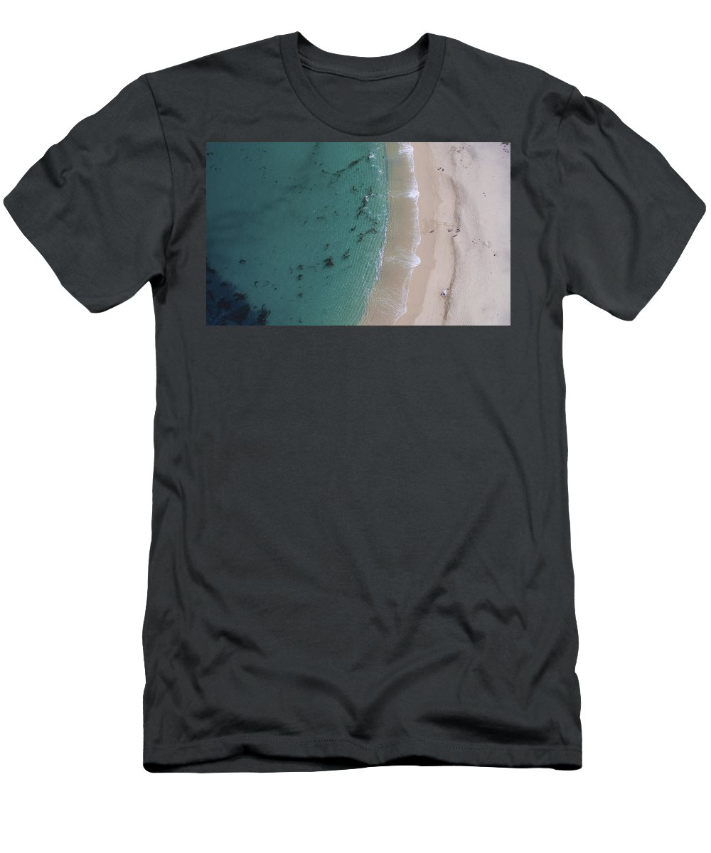 Above Men's T-Shirt (Athletic Fit) featuring the photograph Clarity by David Levy