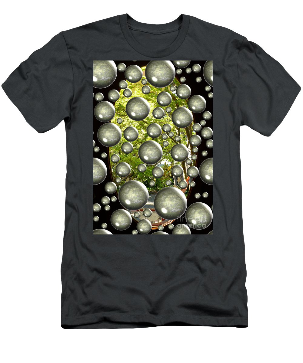 Digital Art Men's T-Shirt (Athletic Fit) featuring the photograph Class Dismissed by Carol Groenen