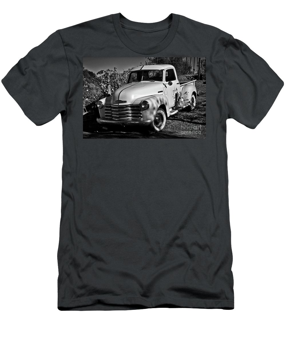 Classic Truck Men's T-Shirt (Athletic Fit) featuring the photograph Classic Chevy Truck by Kirt Tisdale