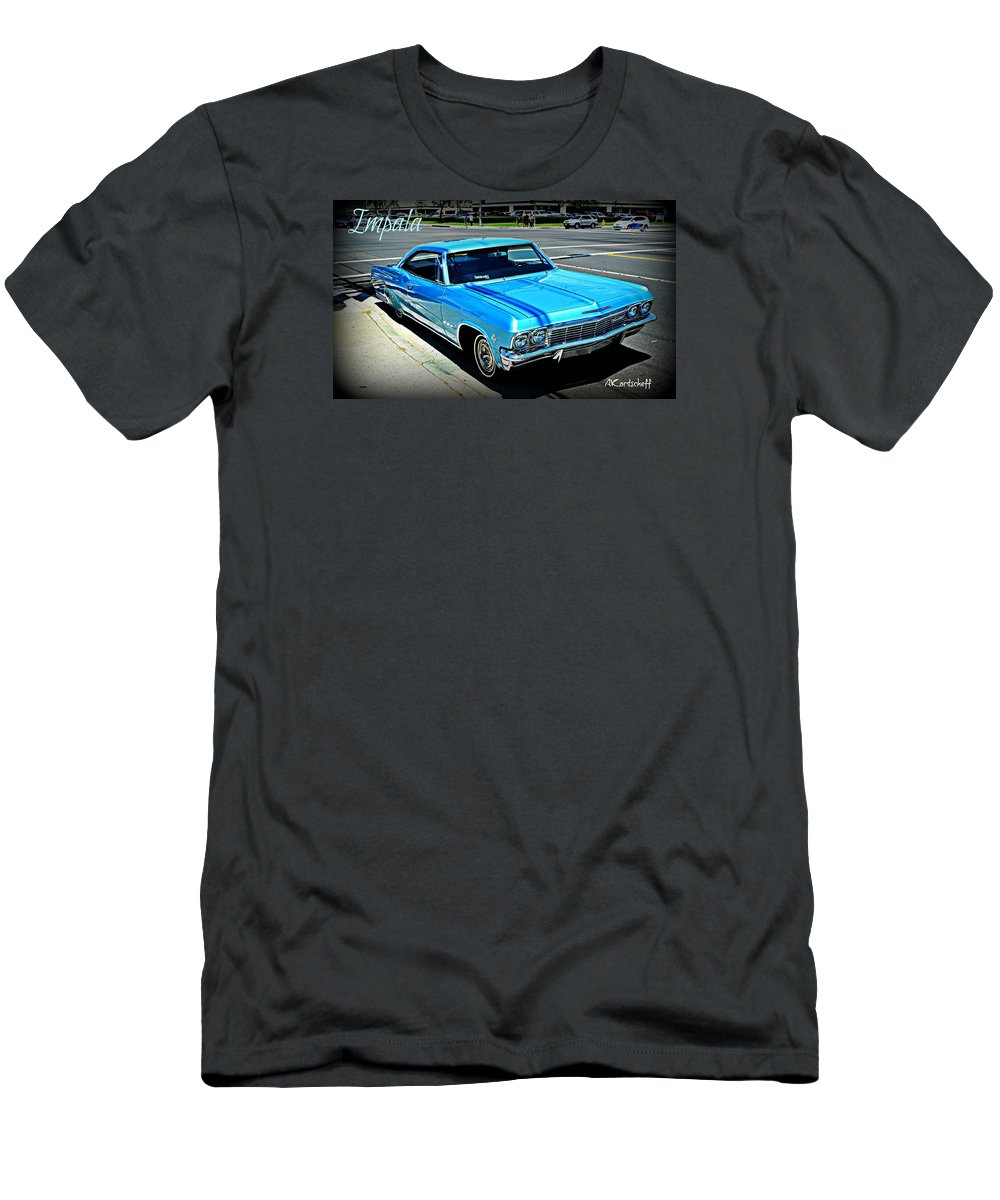Men's T-Shirt (Athletic Fit) featuring the photograph Classic Impala by Anatole Kortscheff